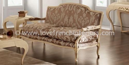 Glamour Low Settee